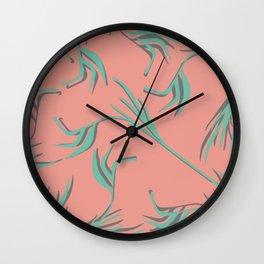 Miami Vine Wall Clock
