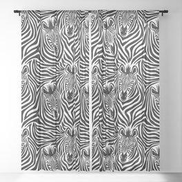 Zebras Pattern Sheer Curtain