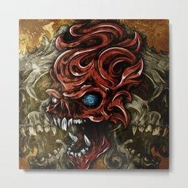 Beyond Skulls Metal Print
