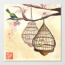 Chinese tea times two Canvas Print