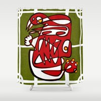 liverpool Shower Curtains featuring Suarez - Liverpool  by Ray Kane