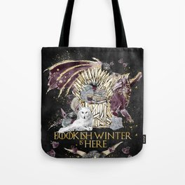 Bookis Winter is Here Tote Bag