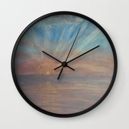 Morning Confessions Wall Clock