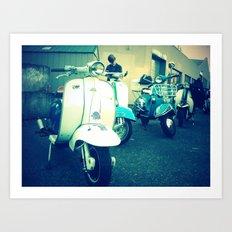 Ballard classic scooters Art Print