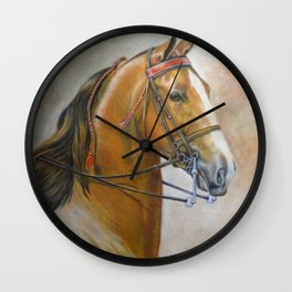 Bright Blaze Wall Clock