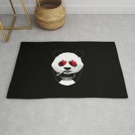 Panda Black Boss Rug