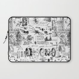 Da Vinci's Sketchbook Laptop Sleeve