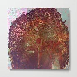 Blasphemous Buddha Metal Print