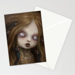 The face of all your fears Stationery Cards