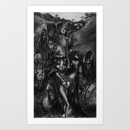 The Parade Art Print