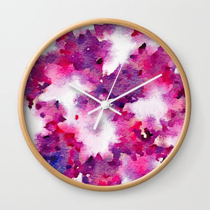 Love Blooms Wall Clock