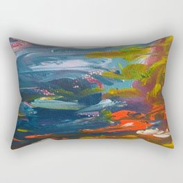The Cliff, Monterey Bay Rectangular Pillow