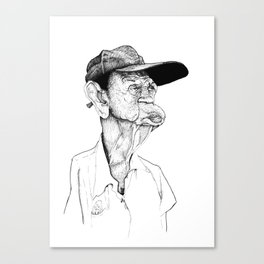 Neckflab Canvas Print