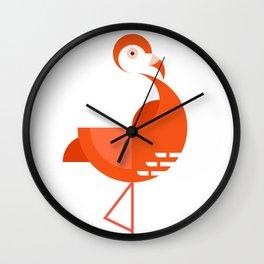 Flamingo Flamingo! Wall Clock