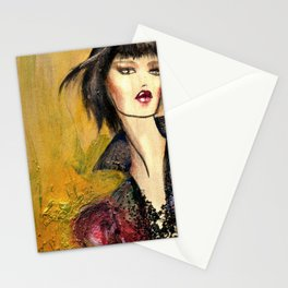 Vivian wakes Stationery Cards