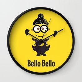 Bello Singh Punjabi (Balle Balle) Minion Inspired Parody Wall Clock