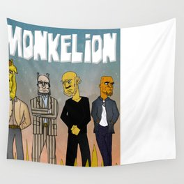 Monkelion #2  Wall Tapestry