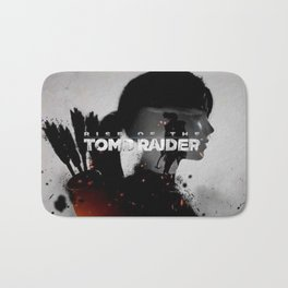 Rise Of The Tomb Rider Bath Mat