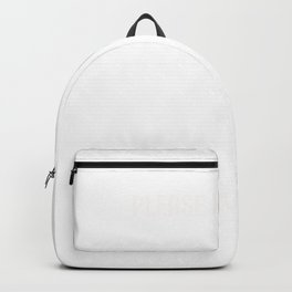 Thrive On Stress Stress or Workaholic Person Gift Backpack
