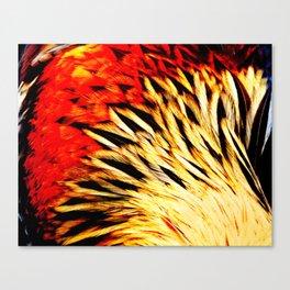 Metallic Bird Canvas Print