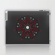 XMAS Mandala dark Laptop & iPad Skin