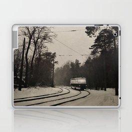 forest tram Laptop & iPad Skin