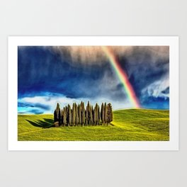 'After the Storm' landscape painting by Jeanpaul Ferro Art Print