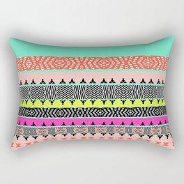 Pure Ethnic borders art Rectangular Pillow