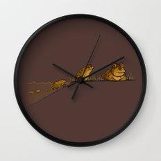 Evolution of Hypnotoad Wall Clock