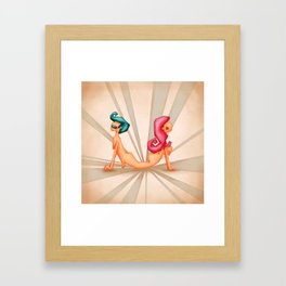 Attached Framed Art Print