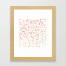 Pink Shidare Zakura Framed Art Print