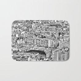 Paris - Blick vom Eiffelturm Bath Mat