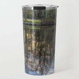 A Pond Of Refections Travel Mug