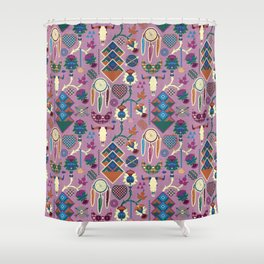Bohemian&Tribal Shower Curtain