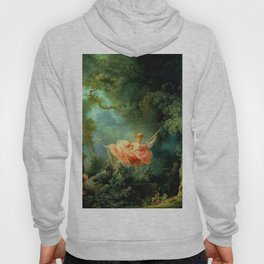 """Jean-Honoré Fragonard """"The Swing (L'Escarpolette)(The Happy Accidents of the Swing"""") Hoody"""