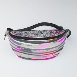 Static Wall Queen Anne's Lace Version II Fanny Pack