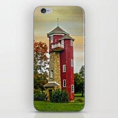 Autumn Water Tower iPhone & iPod Skin