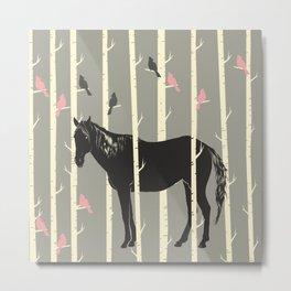 The Bird Whisperer Metal Print