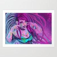 Rastarave Art Print