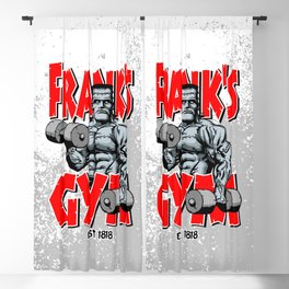 Frank's Gym Blackout Curtain