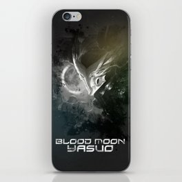 League of Legends Blood Moon Yasuo iPhone Skin