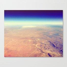 Views of Earth - 4 Canvas Print
