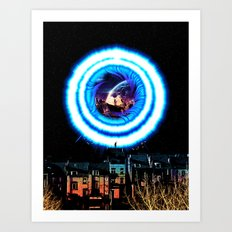 I Wish Wormholes Were More Mainstream Art Print