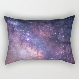 Purple Galaxy Star Travel Rectangular Pillow