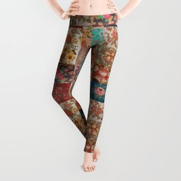 Gypsy Vintage Patchwork Leggings