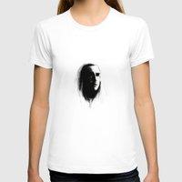 thranduil T-shirts featuring Thranduil in bnw by LindaMarieAnson