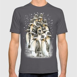 A Gathering in the Snow T-shirt