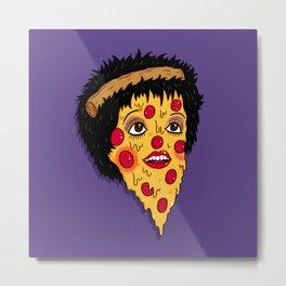 Pizza Minnelli Metal Print