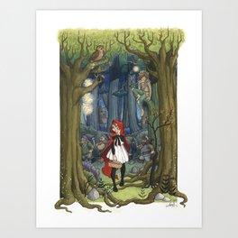 Fairytale crossover Art Print