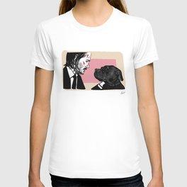 John Wick and his Very Good Boy T-shirt
